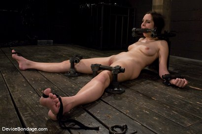 Photo number 5 from Winter Sky<br>Scared local girl over cums<br>her fear and suffers beautifully for her pleasure. shot for Device Bondage on Kink.com. Featuring Winter Sky in hardcore BDSM & Fetish porn.