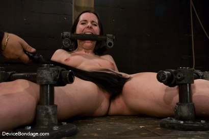 Photo number 7 from Winter Sky<br>Scared local girl over cums<br>her fear and suffers beautifully for her pleasure. shot for Device Bondage on Kink.com. Featuring Winter Sky in hardcore BDSM & Fetish porn.