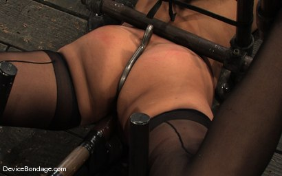 Photo number 10 from Ariel X, Annie Cruz Part 3 of 4 of the March Live Feed shot for Device Bondage on Kink.com. Featuring Ariel X, Annie Cruz and Isis Love in hardcore BDSM & Fetish porn.
