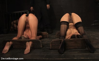 Photo number 8 from Ariel X, Annie Cruz Part 4 of 4 of the March Live Feed<br>The domination of Isis shot for Device Bondage on Kink.com. Featuring Ariel X, Annie Cruz and Isis Love in hardcore BDSM & Fetish porn.