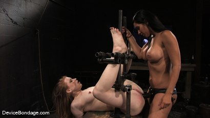 Photo number 1 from Madison, Sindee Jennings and Isis Love  Part 2 of 4 of the April live feed. shot for Device Bondage on Kink.com. Featuring Madison Young, Isis Love and Sindee Jennings in hardcore BDSM & Fetish porn.