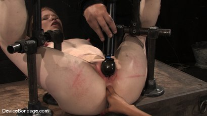 Photo number 4 from Madison, Sindee Jennings and Isis Love  Part 2 of 4 of the April live feed. shot for Device Bondage on Kink.com. Featuring Madison Young, Isis Love and Sindee Jennings in hardcore BDSM & Fetish porn.