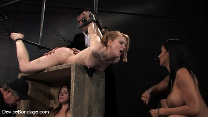 Photo number 12 from Madison, Sindee Jennings and Isis Love  Part 3 of 4 of the April live feed. shot for Device Bondage on Kink.com. Featuring Madison Young, Isis Love and Sindee Jennings in hardcore BDSM & Fetish porn.
