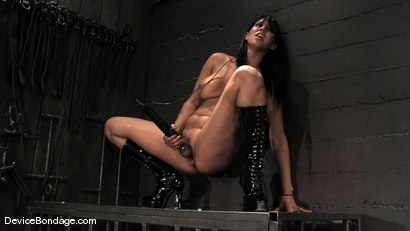 Photo number 2 from Madison, Sindee Jennings and Isis Love <br>Part 4 of 4 of the April live feed. shot for Device Bondage on Kink.com. Featuring Madison Young, Isis Love and Sindee Jennings in hardcore BDSM & Fetish porn.