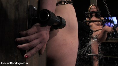 Photo number 12 from Madison, Sindee Jennings and Isis Love   Part 4 of 4 of the April live feed. shot for Device Bondage on Kink.com. Featuring Madison Young, Isis Love and Sindee Jennings in hardcore BDSM & Fetish porn.