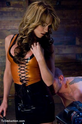 Photo number 2 from Kelly Shore shot for TS Seduction on Kink.com. Featuring MrsKellyPierce and Tristan Mathews in hardcore BDSM & Fetish porn.