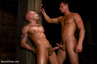 Photo number 10 from The Farmer and The Punk shot for Bound Gods on Kink.com. Featuring Drake Jaden and Rusty Stevens in hardcore BDSM & Fetish porn.
