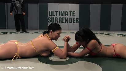 Photo number 2 from SUMMER VENGEANCE TOURNAMENT MATCH UP!<BR>CLAIR DAMES VS ANNIE CRUZ shot for Ultimate Surrender on Kink.com. Featuring Annie Cruz and Claire Dames in hardcore BDSM & Fetish porn.