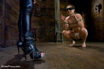 Photo number 2 from Maitresse Madeline - Orgasms are not given, they are earned shot for Wired Pussy on Kink.com. Featuring Maitresse Madeline Marlowe and Savannah West in hardcore BDSM & Fetish porn.