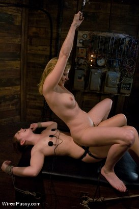 Photo number 13 from Maitresse Madeline - Orgasms are not given, they are earned shot for Wired Pussy on Kink.com. Featuring Maitresse Madeline Marlowe and Savannah West in hardcore BDSM & Fetish porn.