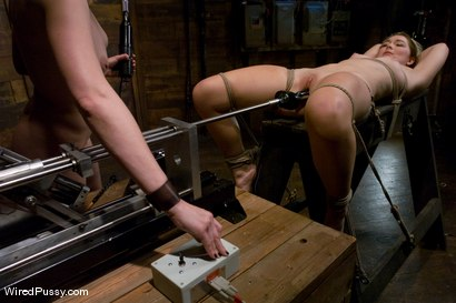 Photo number 7 from Maitresse Madeline - Orgasms are not given, they are earned shot for Wired Pussy on Kink.com. Featuring Maitresse Madeline Marlowe  and Savannah West in hardcore BDSM & Fetish porn.