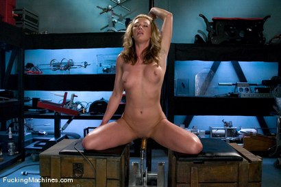 Photo number 7 from Amateur Girl Fridays - <br> Mason shot for Fucking Machines on Kink.com. Featuring Mason in hardcore BDSM & Fetish porn.