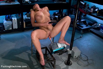 Photo number 4 from Amateur Girl Fridays - <br> Mason shot for Fucking Machines on Kink.com. Featuring Mason in hardcore BDSM & Fetish porn.
