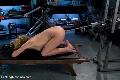 Photo number 10 from Amateur Girl Fridays - <br> Mason shot for Fucking Machines on Kink.com. Featuring Mason in hardcore BDSM & Fetish porn.