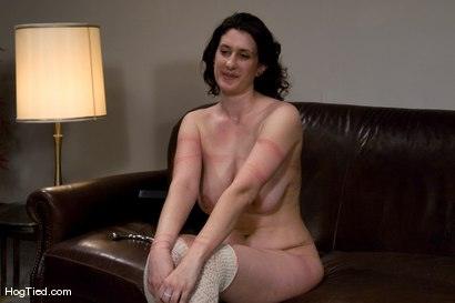 Photo number 15 from Amateur Casting Couch 12: Karin Sin - A woman who knows what she likes to be fucked with! shot for Hogtied on Kink.com. Featuring Karin Sin in hardcore BDSM & Fetish porn.