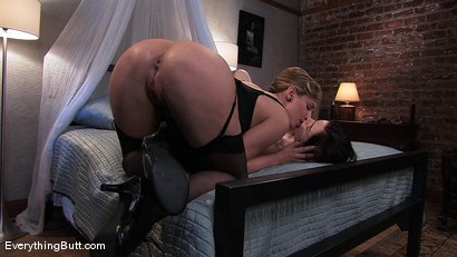 Photo number 5 from The Gentle Approach to Heavy Ass Fucking! shot for Everything Butt on Kink.com. Featuring Maitresse Madeline Marlowe and Nicotine in hardcore BDSM & Fetish porn.