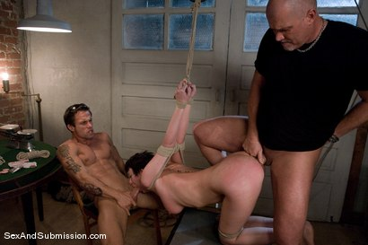 Photo number 9 from The Poker Game shot for Sex And Submission on Kink.com. Featuring Cherry Torn, Mark Davis, Mr. Pete and Alan Stafford in hardcore BDSM & Fetish porn.