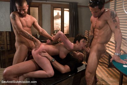 Photo number 11 from The Poker Game shot for Sex And Submission on Kink.com. Featuring Cherry Torn, Mark Davis, Mr. Pete and Alan Stafford in hardcore BDSM & Fetish porn.