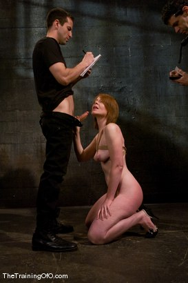 Photo number 5 from Slave candidate fucked and tested shot for The Training Of O on Kink.com. Featuring Ariana Carmine and Maestro in hardcore BDSM & Fetish porn.