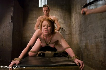 Photo number 12 from Slave candidate fucked and tested shot for The Training Of O on Kink.com. Featuring Ariana Carmine and Maestro in hardcore BDSM & Fetish porn.