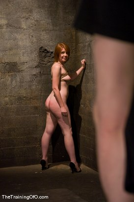Photo number 6 from Slave candidate fucked and tested shot for The Training Of O on Kink.com. Featuring Ariana Carmine and Maestro in hardcore BDSM & Fetish porn.
