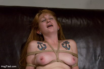 Photo number 12 from Casting Couch 11: Scarlet Von Pink Red Headed Amazon! shot for Hogtied on Kink.com. Featuring Scarlette Von Pink in hardcore BDSM & Fetish porn.
