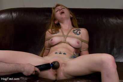 Photo number 9 from Casting Couch 11: Scarlet Von Pink Red Headed Amazon! shot for Hogtied on Kink.com. Featuring Scarlette Von Pink in hardcore BDSM & Fetish porn.