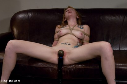 Photo number 11 from Casting Couch 11: Scarlet Von Pink Red Headed Amazon! shot for Hogtied on Kink.com. Featuring Scarlette Von Pink in hardcore BDSM & Fetish porn.