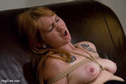 Photo number 10 from Casting Couch 11: Scarlet Von Pink Red Headed Amazon! shot for Hogtied on Kink.com. Featuring Scarlette Von Pink in hardcore BDSM & Fetish porn.