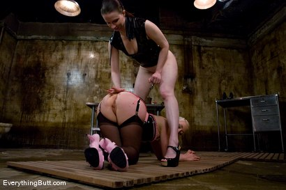 Photo number 4 from Anal Action at it's Deepest & Hardest: Claire Adams & Lorelei Lee shot for Everything Butt on Kink.com. Featuring Claire Adams and Lorelei Lee in hardcore BDSM & Fetish porn.