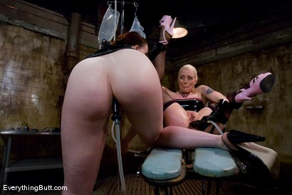 Photo number 3 from Anal Action at it's Deepest & Hardest: Claire Adams & Lorelei Lee shot for Everything Butt on Kink.com. Featuring Claire Adams and Lorelei Lee in hardcore BDSM & Fetish porn.