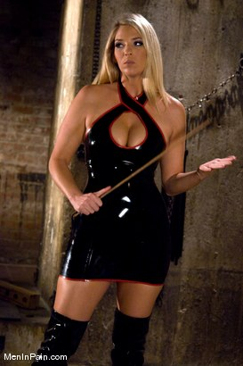 Photo number 1 from Fresh Blonde Dominatrix Brings the Pain shot for Men In Pain on Kink.com. Featuring Jordan Kingsley and Rico in hardcore BDSM & Fetish porn.
