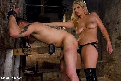 Photo number 6 from Fresh Blonde Dominatrix Brings the Pain shot for Men In Pain on Kink.com. Featuring Jordan Kingsley and Rico in hardcore BDSM & Fetish porn.