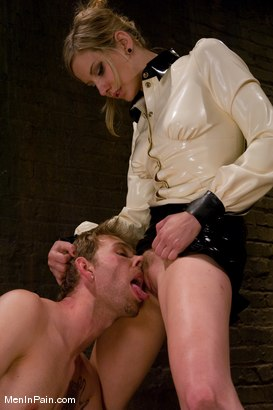 Photo number 12 from My Little Cunt shot for Men In Pain on Kink.com. Featuring Maitresse Madeline Marlowe  and Dean Strong in hardcore BDSM & Fetish porn.