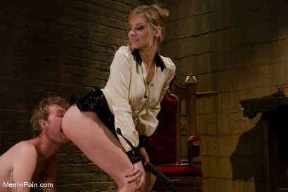Photo number 11 from My Little Cunt shot for Men In Pain on Kink.com. Featuring Maitresse Madeline Marlowe  and Dean Strong in hardcore BDSM & Fetish porn.