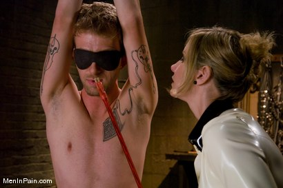 Photo number 4 from My Little Cunt shot for Men In Pain on Kink.com. Featuring Maitresse Madeline Marlowe  and Dean Strong in hardcore BDSM & Fetish porn.