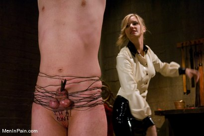 Photo number 7 from My Little Cunt shot for Men In Pain on Kink.com. Featuring Maitresse Madeline Marlowe  and Dean Strong in hardcore BDSM & Fetish porn.