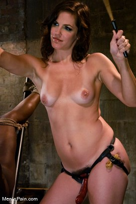 Photo number 11 from Gorgeous Dominatrix teaches Pussy Worship shot for Men In Pain on Kink.com. Featuring Bobbi Starr and Jack Hammer in hardcore BDSM & Fetish porn.