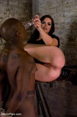 Photo number 6 from Gorgeous Dominatrix teaches Pussy Worship shot for Men In Pain on Kink.com. Featuring Bobbi Starr and Jack Hammer in hardcore BDSM & Fetish porn.