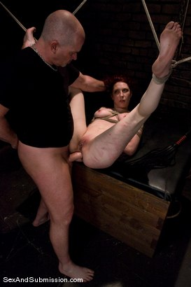 Photo number 11 from Carmen Stark shot for Sex And Submission on Kink.com. Featuring Mark Davis and Carmen Stark in hardcore BDSM & Fetish porn.