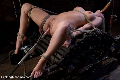 Photo number 2 from Harmony Rose Returns shot for Fucking Machines on Kink.com. Featuring Harmony in hardcore BDSM & Fetish porn.