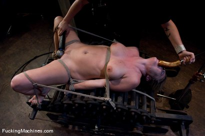 Photo number 4 from Harmony Rose Returns shot for Fucking Machines on Kink.com. Featuring Harmony in hardcore BDSM & Fetish porn.