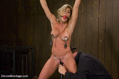 Photo number 8 from Felony<br> Hot big titted MILF<br>Category 5 suspension. shot for Device Bondage on Kink.com. Featuring Felony in hardcore BDSM & Fetish porn.