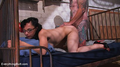 Photo number 14 from Retro Chick gets her mechanic to butt fuck her shot for Everything Butt on Kink.com. Featuring Maggie Mayhem and Otto in hardcore BDSM & Fetish porn.