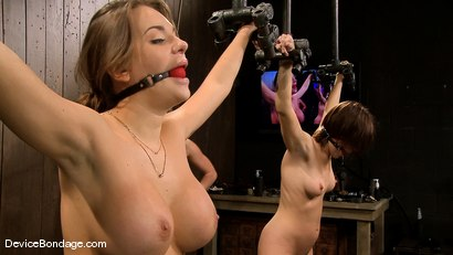 Photo number 9 from Dana DeArmond, Nika Noire and Ariel X <br>Part 3 of 4 of the May Live Feed shot for Device Bondage on Kink.com. Featuring Nika Noire, Ariel X and Dana DeArmond in hardcore BDSM & Fetish porn.