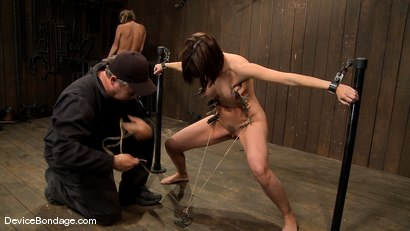Photo number 5 from Dana DeArmond, Nika Noire and Ariel X<br> Part 4 of 4 of the May Live Feed shot for Device Bondage on Kink.com. Featuring Nika Noire, Ariel X and Dana DeArmond in hardcore BDSM & Fetish porn.