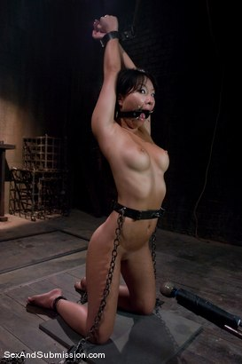 Photo number 6 from Asa Akira: First Time Fucked in Bondage shot for Sex And Submission on Kink.com. Featuring Mr. Pete and Asa Akira in hardcore BDSM & Fetish porn.