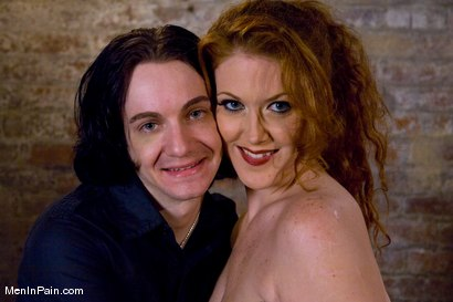 Photo number 15 from Red Headed Tolerances shot for Men In Pain on Kink.com. Featuring Sabrina Fox and Kade in hardcore BDSM & Fetish porn.