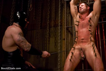Photo number 3 from Slicked Up Dak Ramsey shot for Bound Gods on Kink.com. Featuring Mitch Colby and Dak Ramsey in hardcore BDSM & Fetish porn.