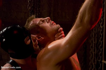 Photo number 2 from Slicked Up Dak Ramsey shot for Bound Gods on Kink.com. Featuring Mitch Colby and Dak Ramsey in hardcore BDSM & Fetish porn.